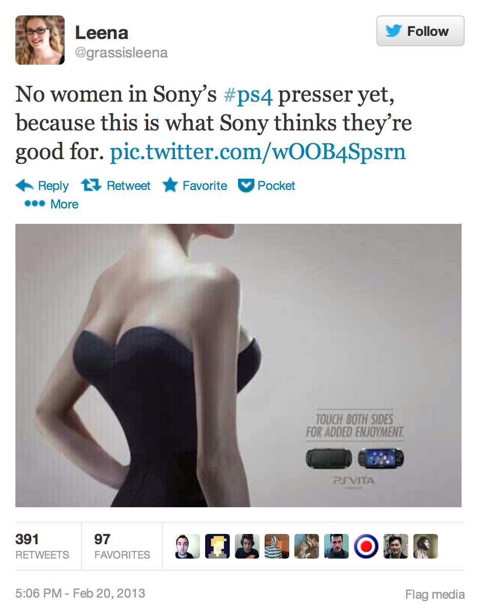 lauriejuspeczyk:  Just wanted to let everyone know that this ad is a Sony Europe ad. Specifically this ad is running in France. You would never see something like this in North America. North American Sony is much more PC then Sony Europe. Sony Europe and Sony North America are two independently operating companies that do not get approval from each other before doing anything in their separate countries, such as this. Sony Europe is infamous for being terribly sexist and racist in their ads. Please don't boycott Sony in North America, they would never pull this kind of bullshit. If you live in Europe, boycott the shit out of Sony for sure. Here's another creepy little number you can only see in Europe.  i reblogged this earlier without this great tidbit of info ps what the link leads to? kinda makes me wanna vomit