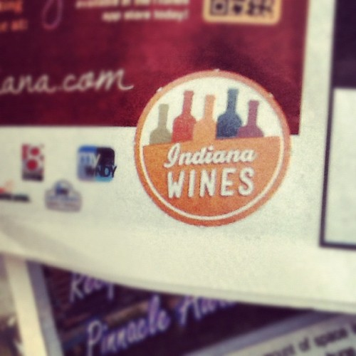 @cododesign in the wild. #indianawines #logo