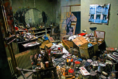 A Terrible Beauty! by dangers on Flickr. Francis Bacon's Studio Dublin city gallery the hugh lane, Dublin Irland