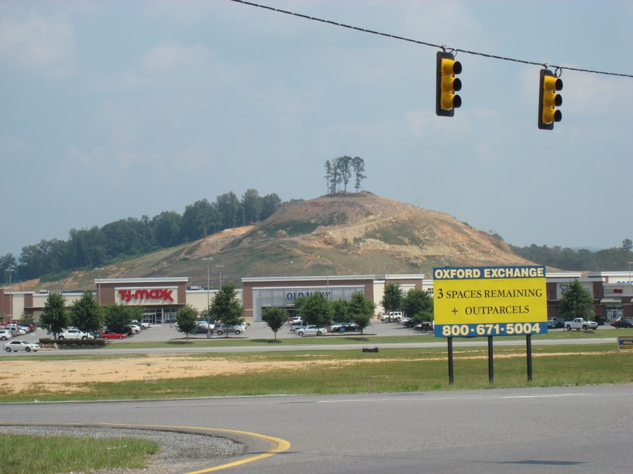 "mia-the-wonder-slut:   Alabama city destroying ancient Indian mound for Sam's Clubsouthernstudies.org City leaders in Oxford, Ala. have approved the destruction of a 1,500-year-old Native American ceremonial mound and are using the dirt as fill for a new Sam's Club, a retail warehouse store operated by Wal-Mart.{C}A University of Alabama archaeology report commissioned by the city found that the site was historically significant as the largest of several ancient stone and earthen mounds throughout the Choccolocco Valley. But Oxford Mayor Leon Smith — whose campaign has financial connections to firms involved in the $2.6 million no-bid project — insists the mound is not man-made and was used only to ""send smoke signals.""  Oh Jesus fucking Christ. Stop it. ""Smoke signals,"" seriously? Omg."