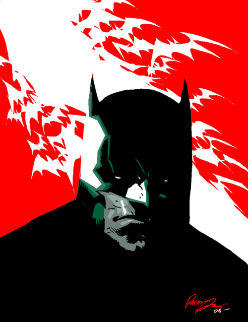 lulubonanza:   Batman quick sketch by ~rafaelalbuquerqueart