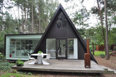 A-frame Small House Renovation and Add-onThis small a-frame cabin that many people would call a tiny house was professionally renovated by d…View Post