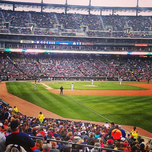 Gotta say, great seats! #Detroit  #Baseball #Tigers #DetroitLove  #Michigan #MLB #Awesome #Comerica #ComericaPark (at Comerica Park)