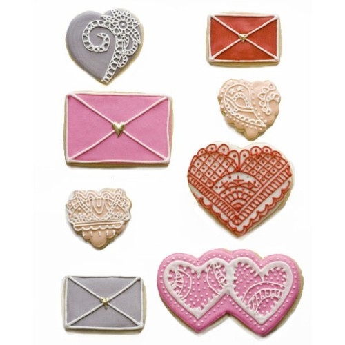 Hearts & Lace #tmbcookies #vday