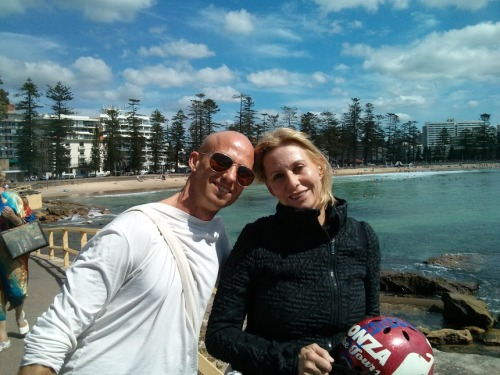 Moving & Grooving with mom, yesterday we biked through Manly beach at the mouth of Sydney Harbor, then hit my favorite dance class on Bondi Beach.  What a trooper; we are clearly cut from the same cloth!  Last night we danced the night away to live music and tribal beats.  We sweat our prayers as we pounced to they hypnotic beats.   My mom and I danced since infancy.  The rhythm never left my bones.  It is part of me and I of it.  I become the dance.  It moves to me.  I get lost.  Is the music moving me or am I moving the music?  It feels so personal; like it was created for me, feeding me exactly what I need in that moment. Movement is my doctor.  I become present.  I feel my body.  The energy rises.  I feel vibrantly alive.  I am nourished.  And feel grateful for the dance.  What a gift to share this with my mother.  I'm truly grateful! Love & Light, RYAN!