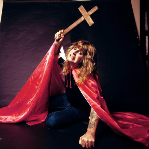 Ozzy Osbourne by Fin Costello, 1981.