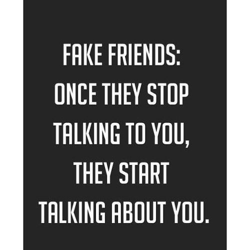Fake Friends.