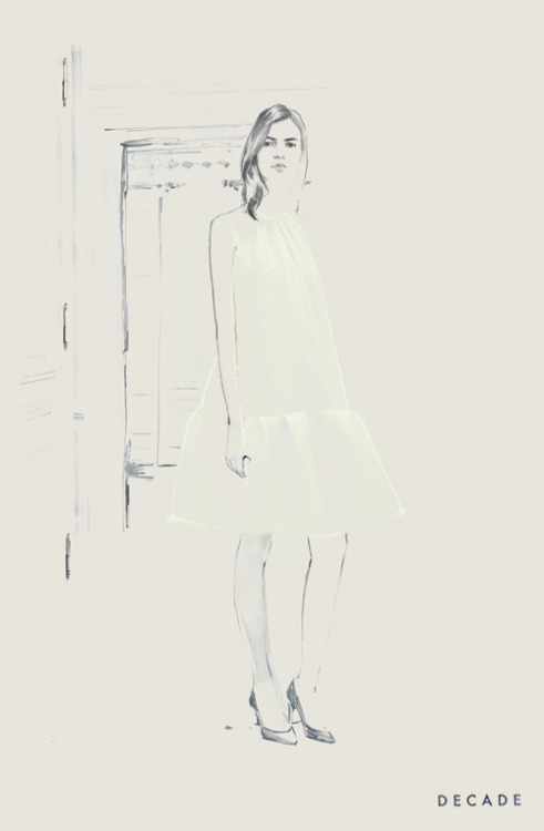 decadediary:    Chloe Blog Post: Pre-Falling « Illustration by Decade Diary