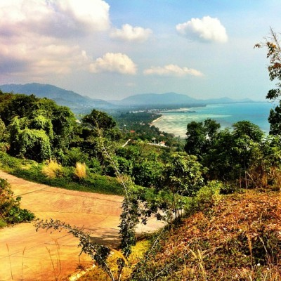 Greetings from Koh Samui! (at Sunset view point)