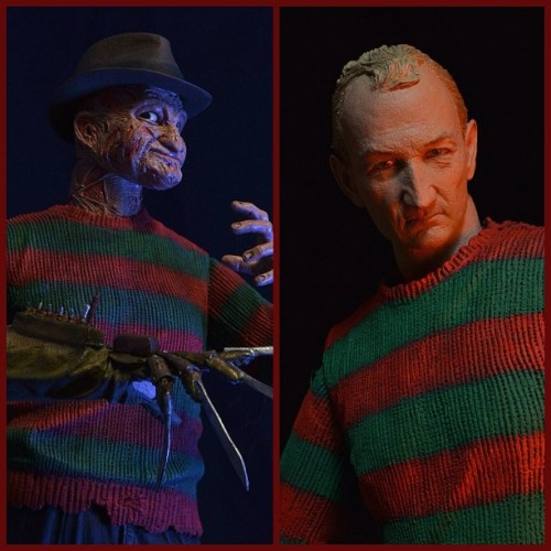 This fall @Neca_Toys is releasing two more Freddy's, both from Freddy's Dead. Powerglove Freddy and The Springwood Slasher. That Robert Englund likeness is quite impressive. #Freddy #NoeS #NightmareonElmStreet #Neca #toys #horror