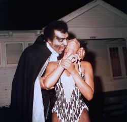 gunsandposes:  William Marshall craves blood in a promo still for Blacula (1972) (via)