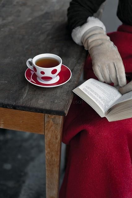 Winter: Tea & Reading / Invierno: te y lectura