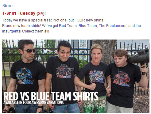 Red Team, Blue Team, The Freelancers, and the Insurgents!  WOO!
