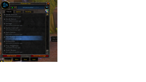 yeah massive wtf moment on WoW. Check out the time logged for Tim!