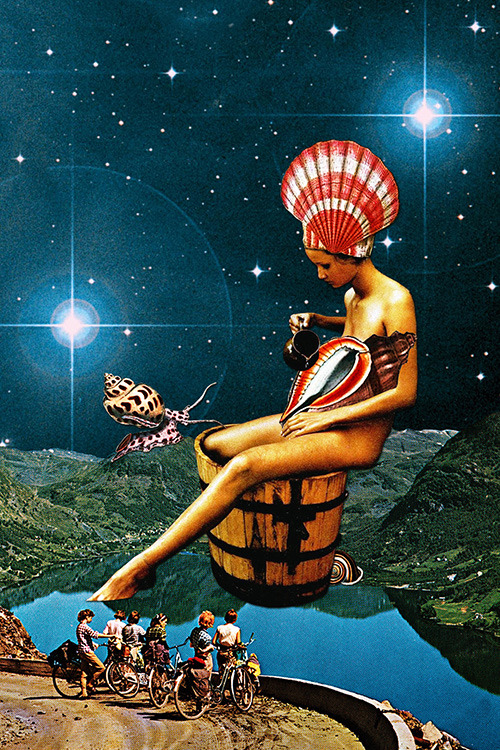 "eugenialoli:  ""Amphitrite"" by Eugenia Loli One of the 50 Nereid water nymphs of the Greek mythology, and wife of Poseidon. Part 1 of 2 of the Nereid series. Check Part 2 here. Follow the artist: TumblR 