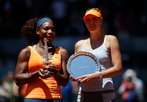 umarangsri51:  The Winner & The Runner Up Mutua Madrid Open Title Madrid, Spain May 12