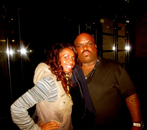 Cee lo Green AND I http://sarakstar.tumblr.com/