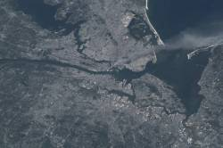 9/11 from the space