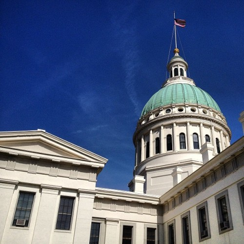 #stl #stlouis #courthouse (at Old Courthouse)