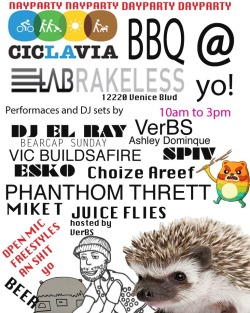 Ciclavia day party Tomm at LA Brakeless https://www.facebook.com/events/509710452425634/?ref=22