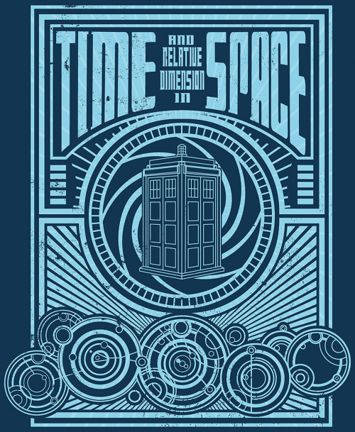 "Zen Monkey Studios — Time And Space by BuzatronYou can still pick up a limited edition print run of my ""Time and Space"" for only $19.99 from Zen Monkey Studios"