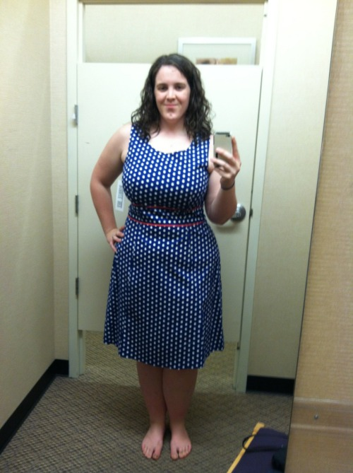Went to JCPennys looking for a dress that could work for a wedding next weekend and potentially my bridal shower in June. I love this one. I think it's a keeper.