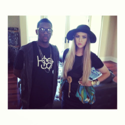 karacraig:  Kara Craig + Hit-Boy.  Bringing fashion sketches to life.