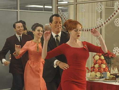 madmenworld:  Here's hoping your Christmas has been filled with Conga lines at least this festive!