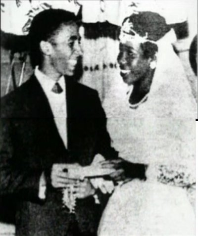 camberwellfoxes:  Bob & Rita Marley  (February 10th 1966) Camberwell Foxes Radio & Blog