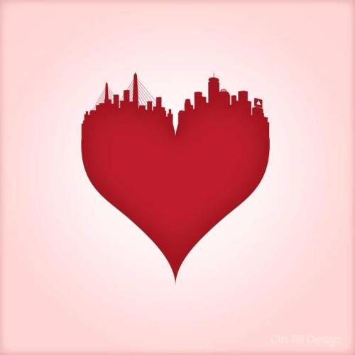 My heart beats for Boston - Boston Strong