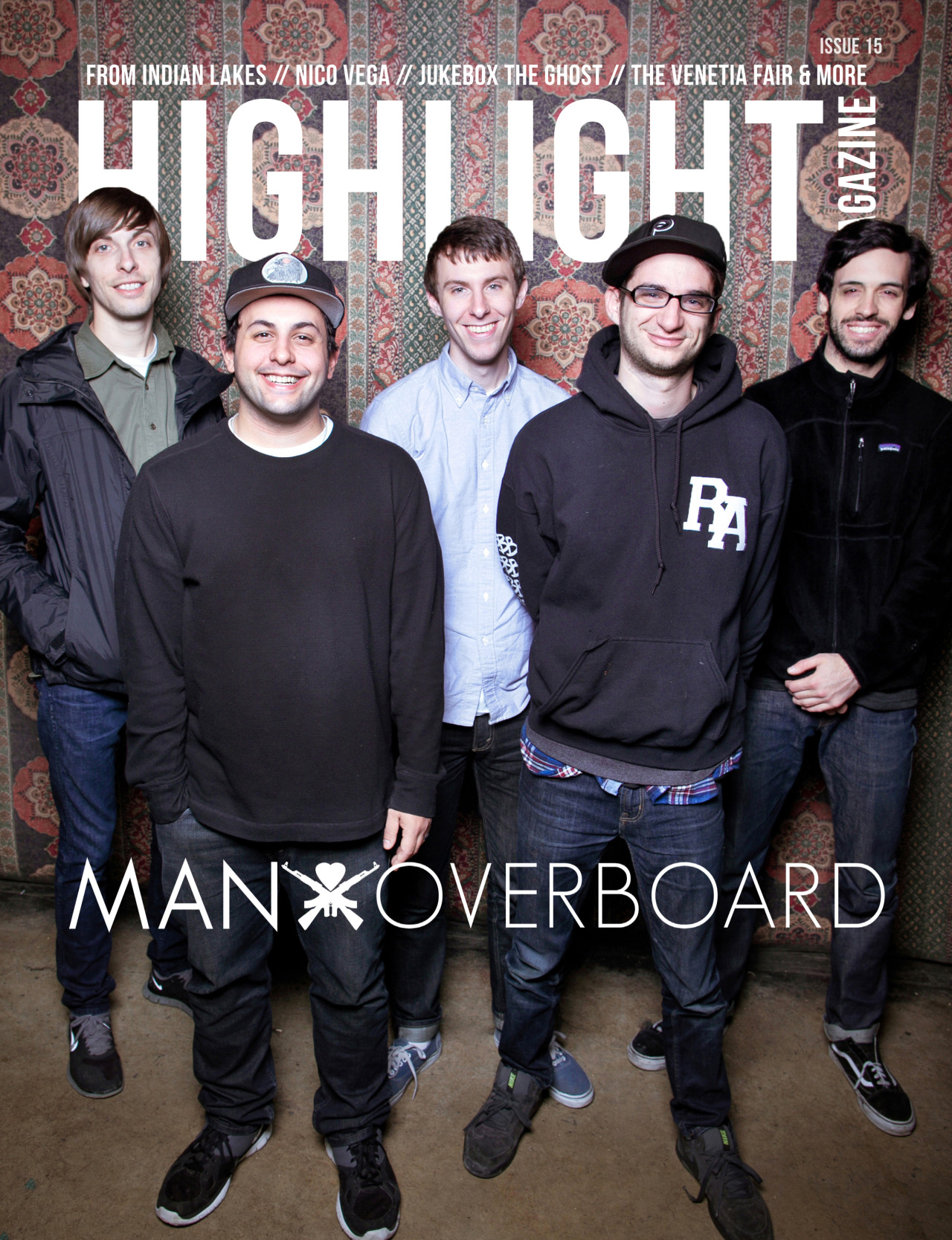 May's issue is finally here. This month we've certainly stepped up our game. Issue #15 is truly one of our most diverse issues by far! Man Overboard is back with a brand new full-length, Heart Attack (released May 28th). They're pushing forward keeping their genuine + DIY mentality and they have quite a story to share. This issue also brings Marina City, X AMBASSADORS, From Indian Lakes, Nico Vega, Jukebox The Ghost, The Venetia Fair and many more! CLICK HERE to read this issue for free!CLICK HERE to buy a physical copy of this issue! Connect with Highlight: Twitter / Facebook / Instagram / Previous Issues