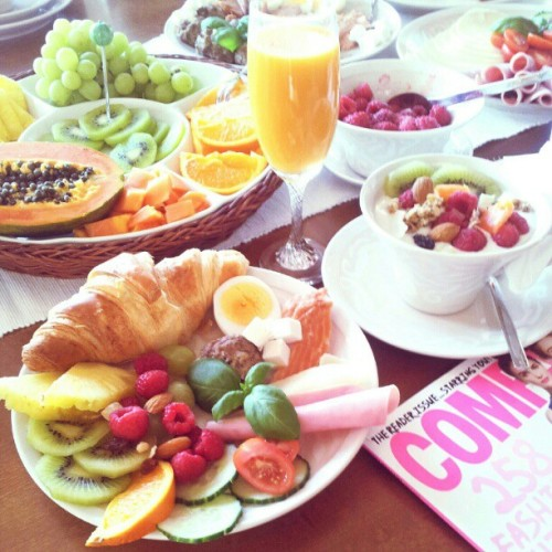 gettingahealthybody:  Have a feast.