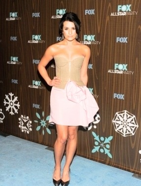 darrenanddianna:  Every Lea Michele Event -> 2010 Fox TCA Party {2010}