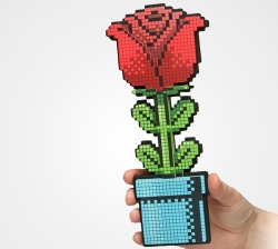 An 8-Bit Rose For A Geeky Valentine's Day