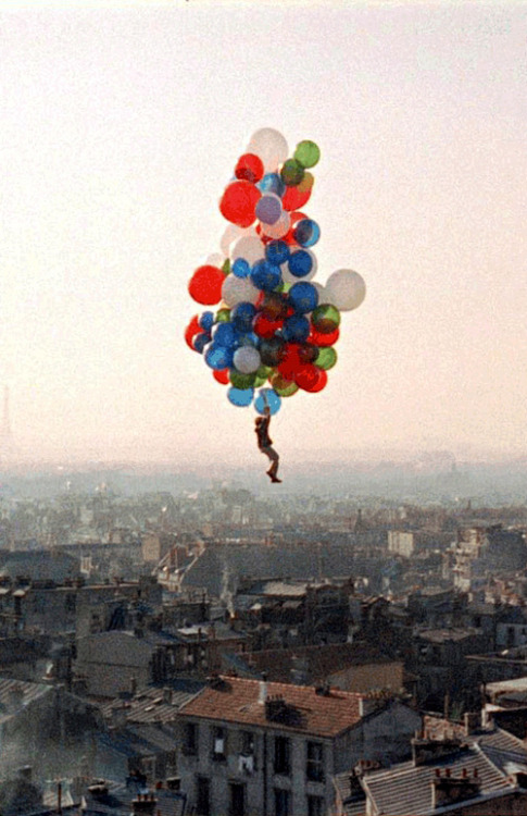 * Still from the Red Balloon (1956), dir. by Albert Lamorisse