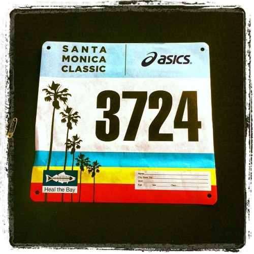 Santa Monica Classic 10K today! Lets get this!! (at Santa Monica Classic 5k/10k)