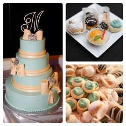 suarezbakery:  One of our past employees was recently married, and was kind enough to send us a few pictures of her cake and dessert catering - provided by Suarez Bakery, of course. Congratulations, Kelley and Kenneth! #weddings #bridal #cake #pastry #pastries #desserts #photography #charlotte #nc #nofilter