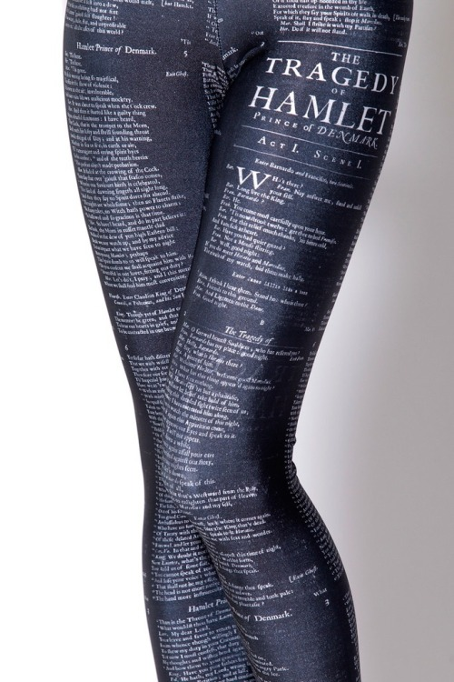 amandaonwriting:  Hamlet Leggings