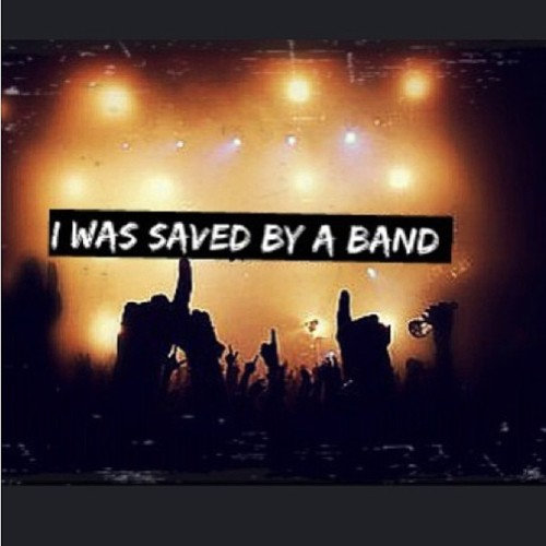 And I'm eternally grateful #savedbyaband #mcr #bvb #mychemicalromance #blackveilbrides #savedmylife