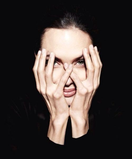 gothprada:  angelinajoliearchive:  2011 - Newsweek Magazine  Babe