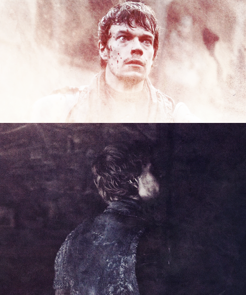 Gods help you, Theon Greyjoy. Now you are truly lost.