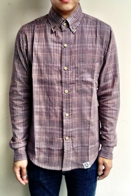DOUBLE FACE Brown Shirt! Price : 255.000 IDR Available size : S - M - L - XL
