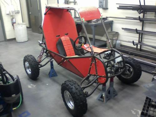 UW-Platteville Baja SAE Build Picture 2012 Competition Vehicle