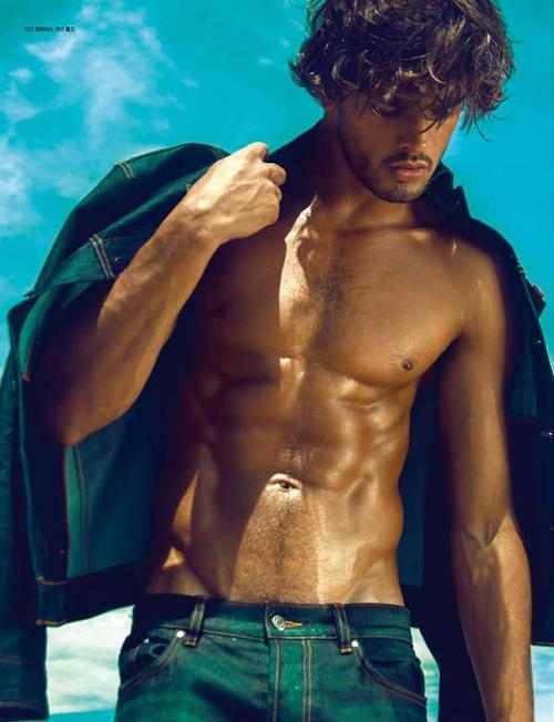 lovingmalemodels:  Marlon Teixeira by Lope Navo for L'officiel Hommes Korea