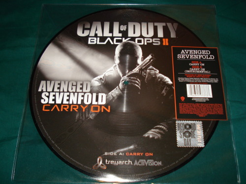 Black Ops 2 Picture Disc Record