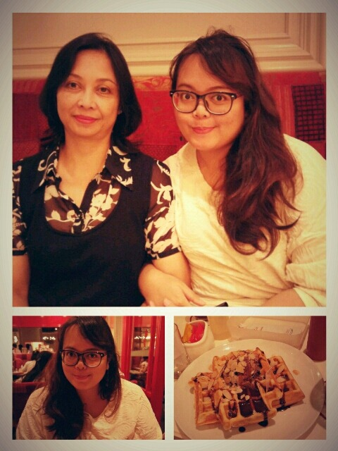 Stuffed and happy! Happy mother's day Ibu.Path.