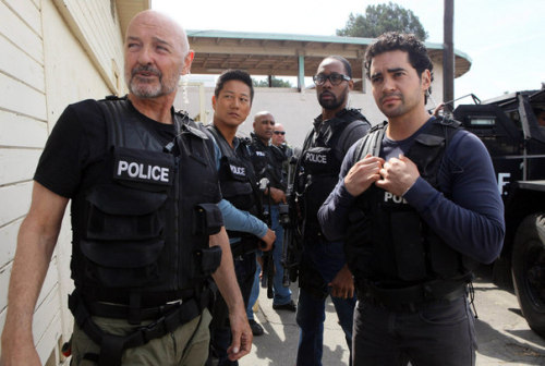 First look: Terry O'Quinn in Gang Related, which FOX just picked up to series.