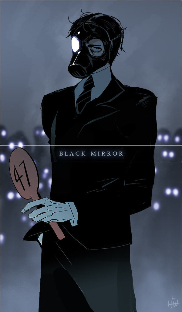 honeyw:  Black mirror, dick grayson