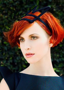 Hayley Williams by Emily Shur for Bust Magazine.