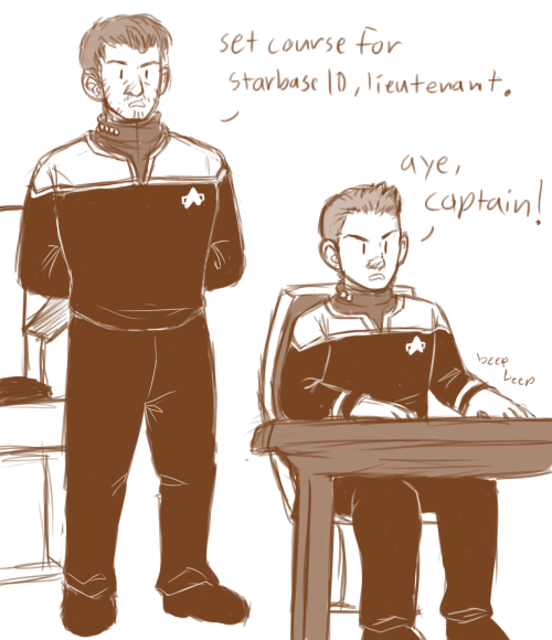 """Keep it up, Nivans. You'll make it to the captain's chair in no time."" we all saw this coming hahaaaaaa"
